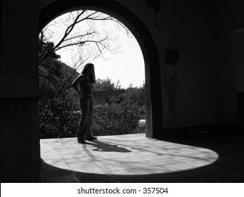 beautiful shadow