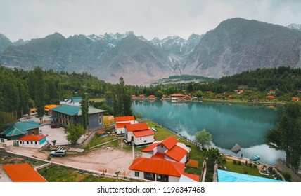 Beautiful Shangrila lake, Skardu Pakistan