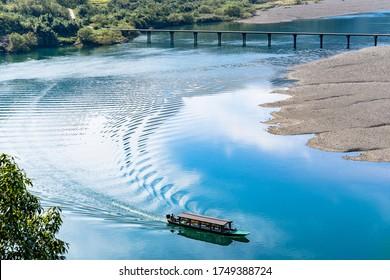 beautiful shimanto river in Kochi