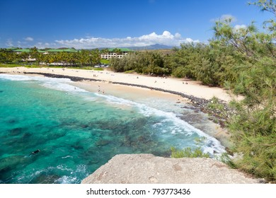 The beautiful Shipwreck Beach in Kauai, Hawaii.