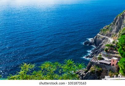 Beautiful shore of the Adriatic Sea.