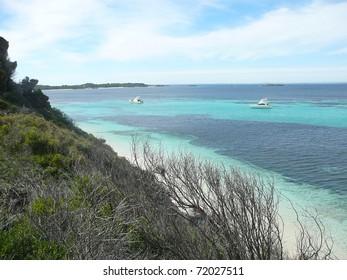 Beautiful Shoreline on Rottnest Island, Australia