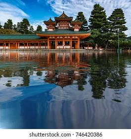 Beautiful shrine in Japan