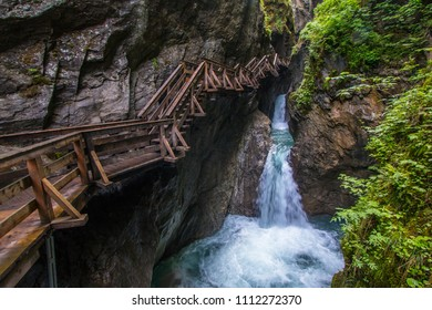 Beautiful Sigmund Thun Klamm gorge in Austria