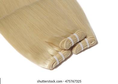 beautiful silky blonde virgin straight human hair weave extensions hair weft