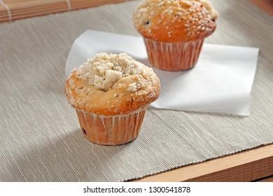 Beautiful Simple Sponge Muffin