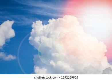 beautiful sky clouds nature background