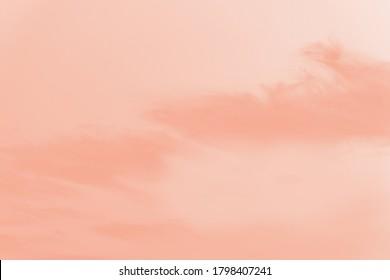 peach cloud images stock photos vectors shutterstock https www shutterstock com image photo beautiful sky clouds pale peach color 1798407241