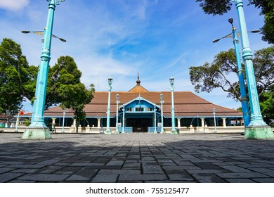 Beautiful sky at Masjid Gedhe Solo, Solo, Jawa Tengah, Indonesia