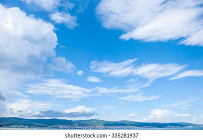 Beautiful sky sea