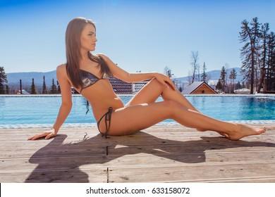 Think, that Arab sexy girl in bikini there