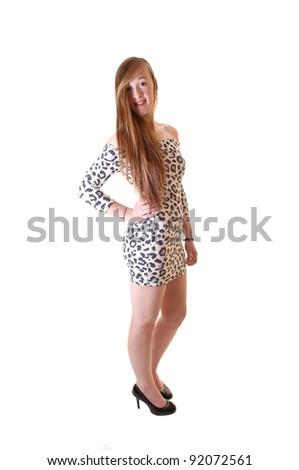 ffe7f1315dba Beautiful Slim Teenage Girl Long Brunette Stock Photo (Edit Now ...