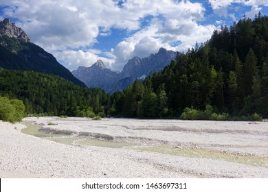 Beautiful Slovenian Alps near Kranjska Gora, Slovenia, Europe