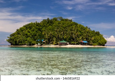 Beautiful small island in Del Carmen Philipines