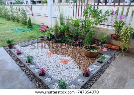 Beautiful Small Rock Garden In The House