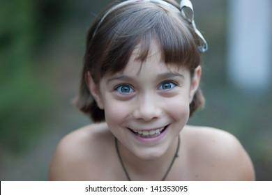 Beautiful smiling child