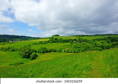 The beautiful Snows Farm nature reserve in the Slad valley, near Stroud, The Cotswolds, Gloucestershire, UK