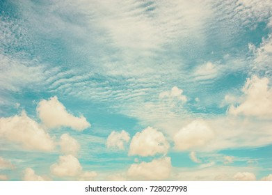 beautiful soft cloudy and light blue sky background