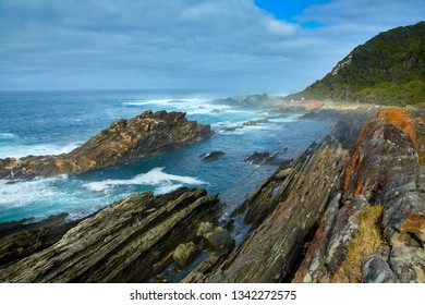 Beautiful south african coastline, tsitsikama national park