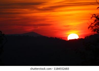 Beautiful Southwest Virginia Mountain Sunset