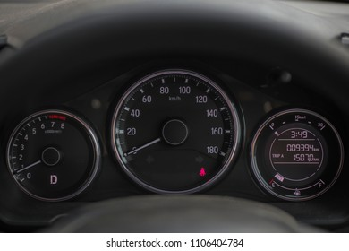 Beautiful Speed Meter On Car Automobile Stock Photo Edit Now