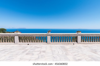 Beautiful spot terrace with sea vieew