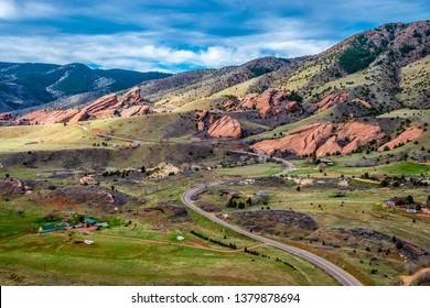 Beautiful Spring Hike at Dakota Ridge in Denver, Colorado