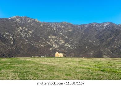 Beautiful spring landscape, Armenia
