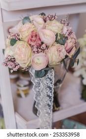 Beautiful spring wedding decoration