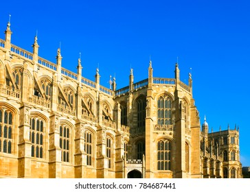 beautiful st. george's chapel of windsor castle windsor uk