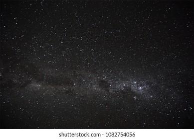 Beautiful stars at Atacama desert