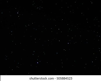 Beautiful stars in the sky background