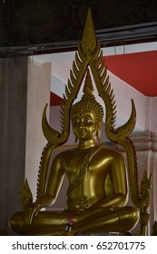 A beautiful statue that looks respectable in Thailand,Buddha image in a temple at Thailand.,Holy day,Buddha day.