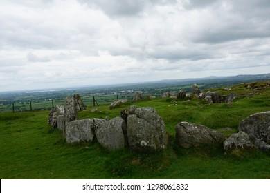 Beautiful Stones of the Burren National Park , Ireland