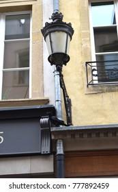 Beautiful street in Luxembourg