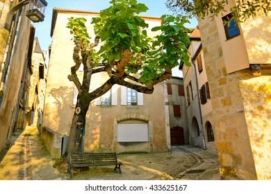 Beautiful streets in Bergerac, France