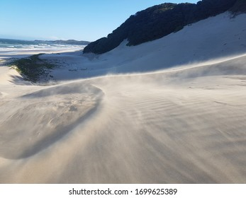Beautiful summer beach. White sands and strong winds make this the perfect destination for a holiday. The beaches remain relatively empty and trash free making for a beautiful and elegant landscape.