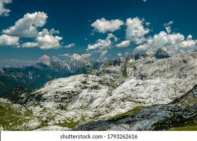 A beautiful summer day on the Canin plan, Julian Alps, Friuli-Venezia Giulia, Italy