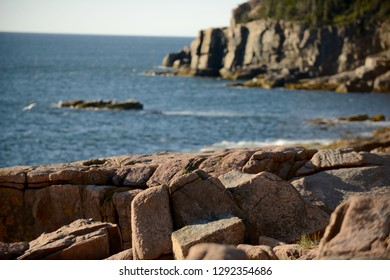 Beautiful summer image of Acadia National Park in Maine
