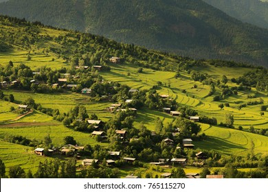 Beautiful summer landscape in Savsat, Artvin province, Turkey