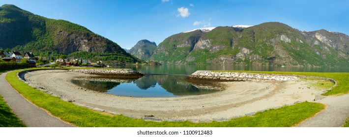 A beautiful summerday in Aurland, in Norway