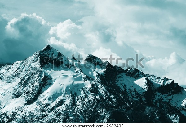 Beautiful summit in the Cordilleras