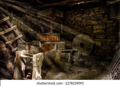 Abandoned Cabin Interior Images, Stock Photos & Vectors