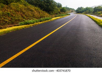 beautiful sun rising sky with asphalt highways road in rural scene use land transport and traveling backgroundbackdrop