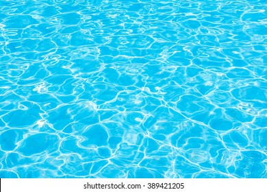 Beautiful sunlight reflect on Pool water background - Boost up Color Processing