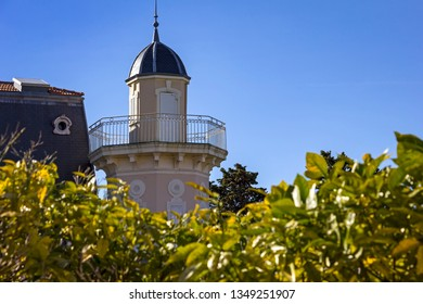 Beautiful sunny day, French Riviera.