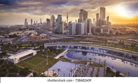 Beautiful Sunrise in Kuwait