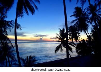 Beautiful sunrise on Pulau Weh