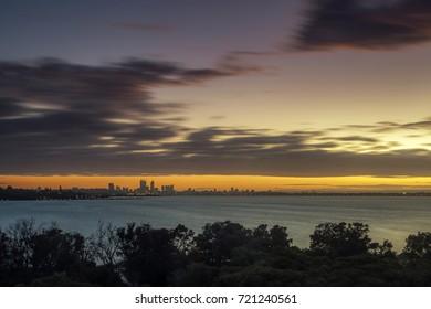 Beautiful Sunrise in Perth, Western Australia