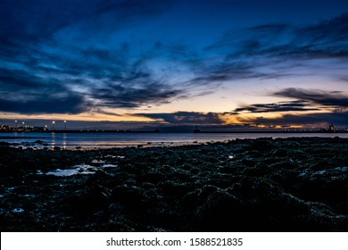 Beautiful Sunrise in Peterhead (Scotland)